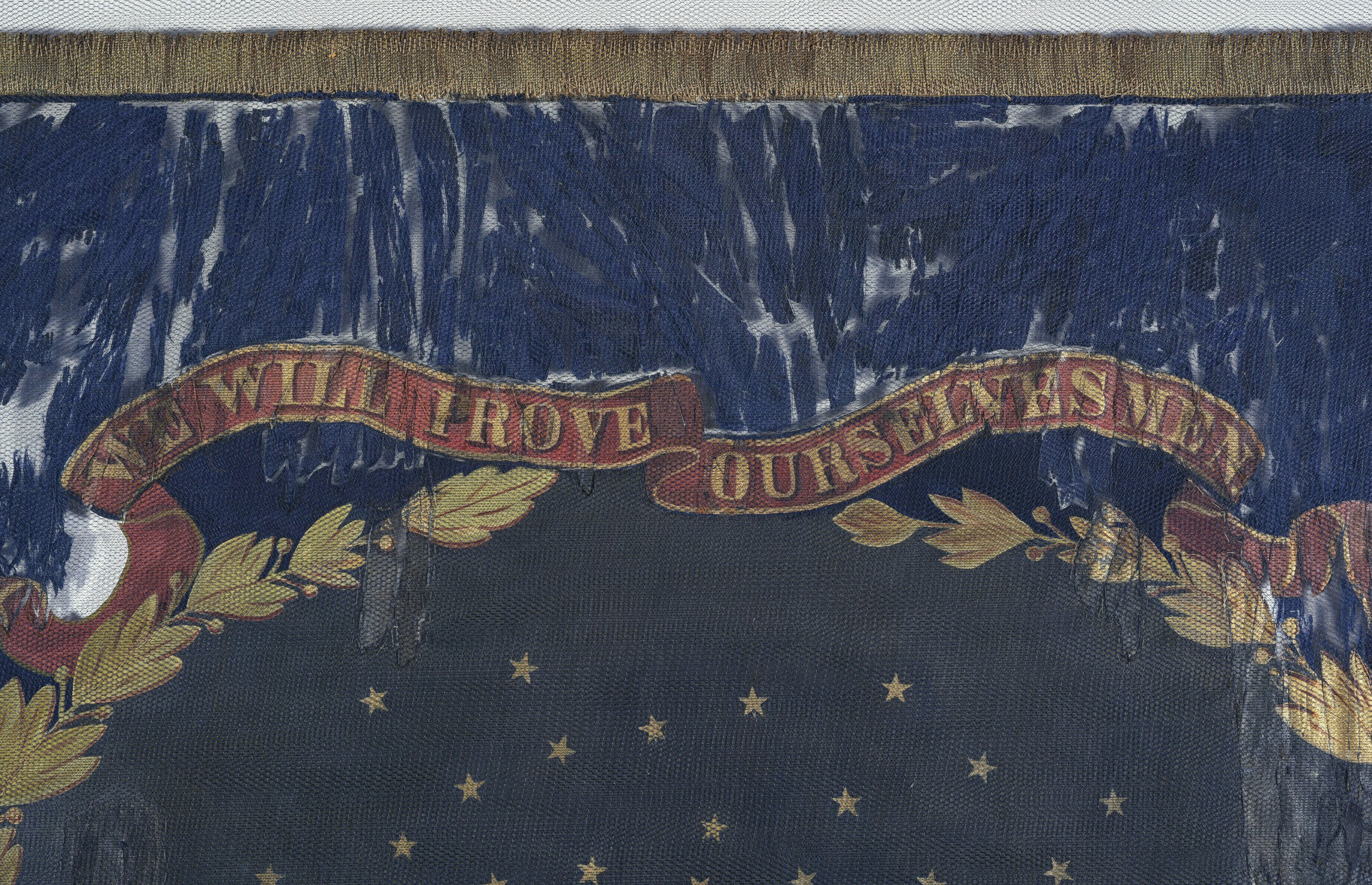 Battle flag carried by black Union troops hits auction block