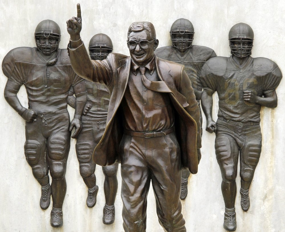 Penn State settles 'outstanding issues' with Paterno family