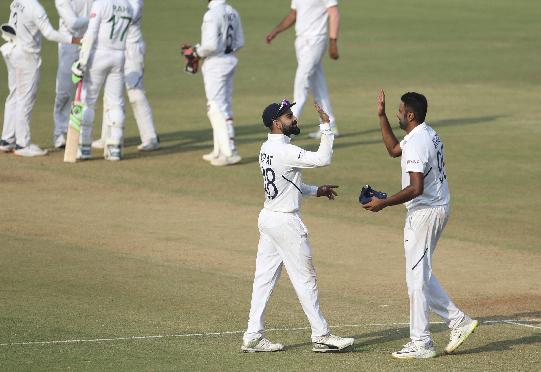 Shami, Ashwin lead India to crushing win over Bangladesh