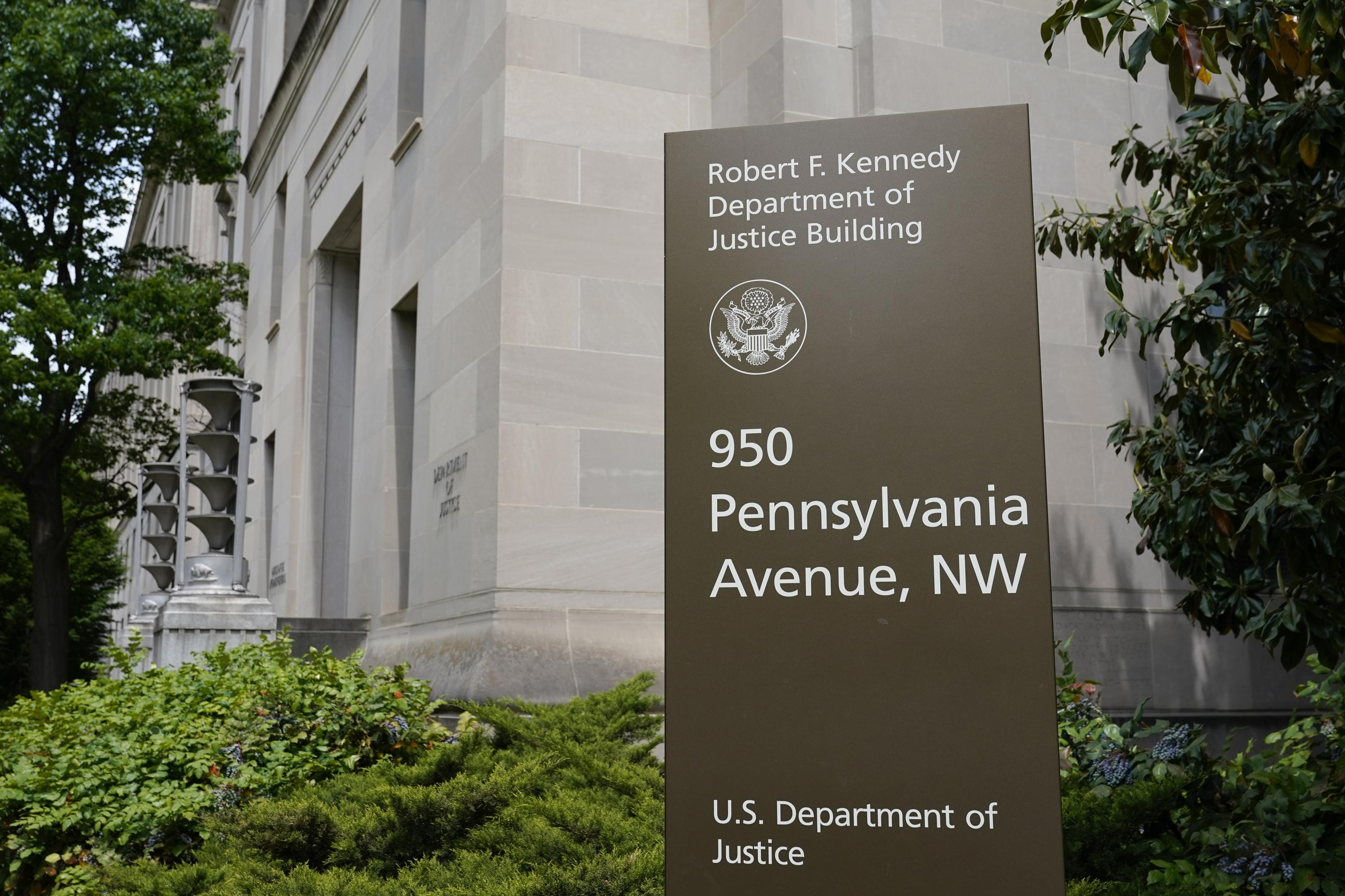 The Justice Department says 27 US Attorney offices had at least one employee's Microsoft email account breached by Russian hackers from May 7 to Dec. 27, 2020 (Associated Press)