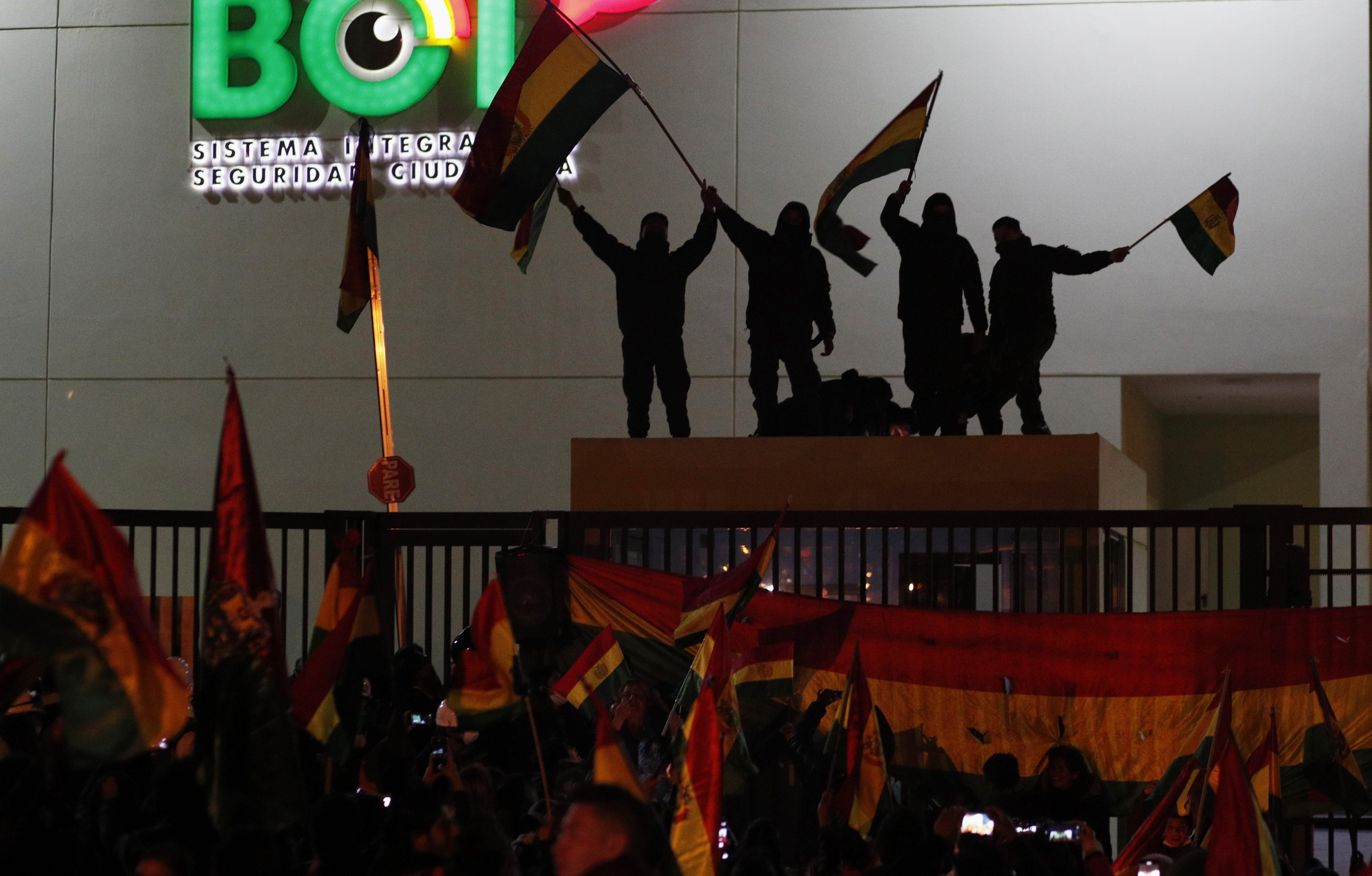 New challenge for Bolivian president as police abandon posts