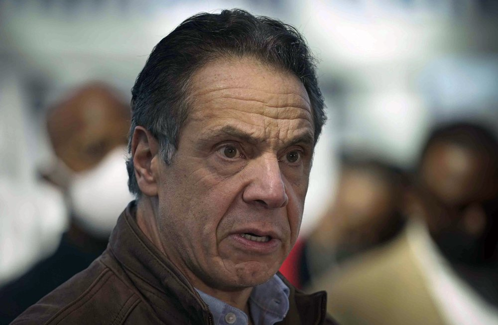 Female aide says Cuomo groped her in governor's residence