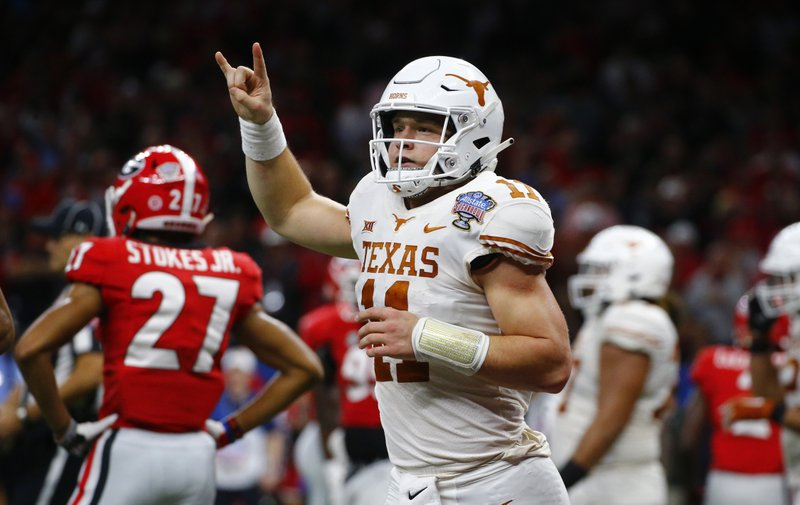Texas Qb Sam Ehlinger Likely To Crank It Up A Notch