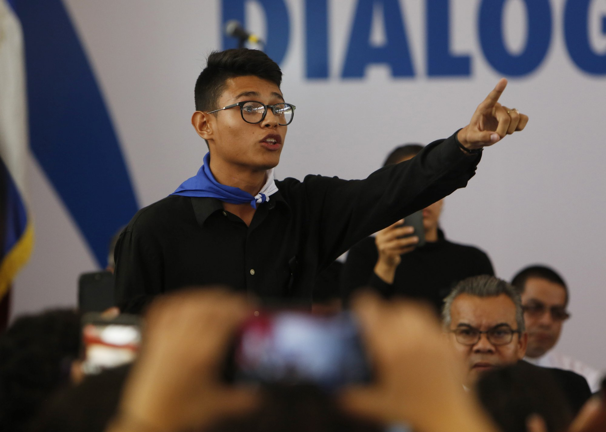 Student leader who confronted Ortega returns to Nicaragua