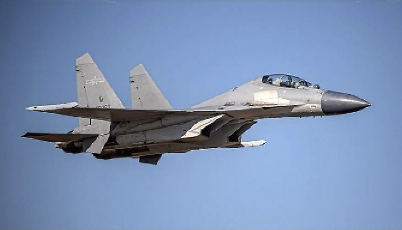 China flies record 56 warplanes toward self-ruled Taiwan