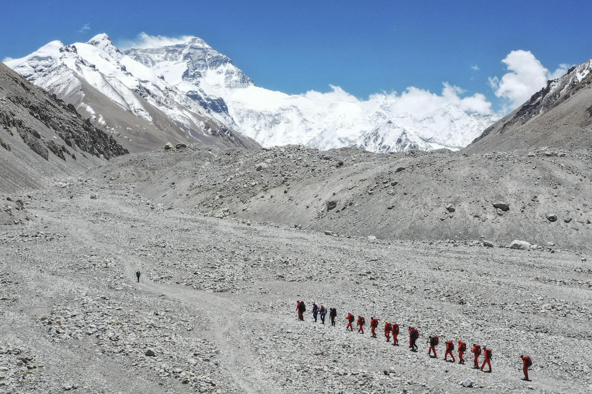 38 Mountaineers Issued Chinese Permits to Climb Mount Everest's Northern Slope