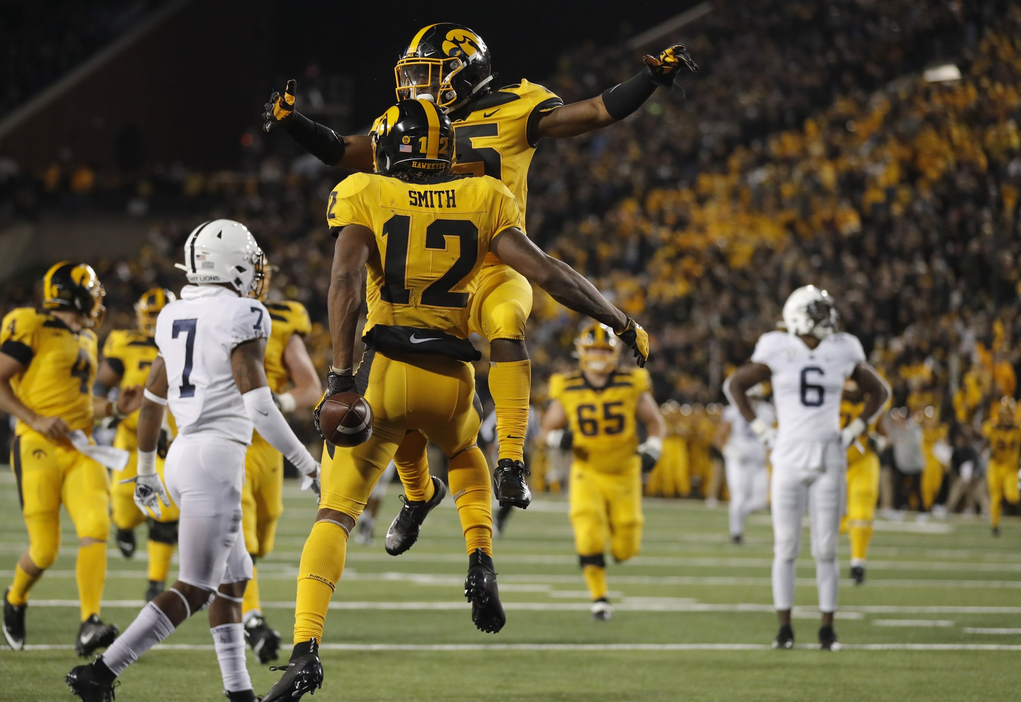 No. 23 Iowa looks for bounce back vs. banged-up Purdue
