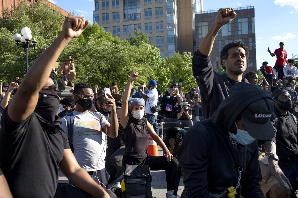 Update on the world's responds to the May 25 death of black man George Floyd