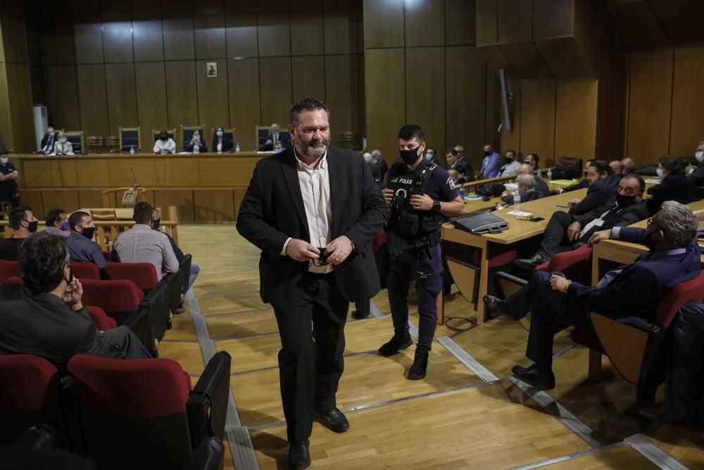 Greek far-right lawmaker Ioannis Lagos held, awaiting extradition ruling