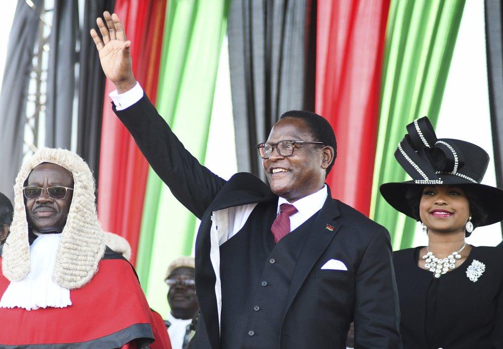 Theologian and Assemblies of God President Lazarus Chakwera Inaugurated as President of Malawi