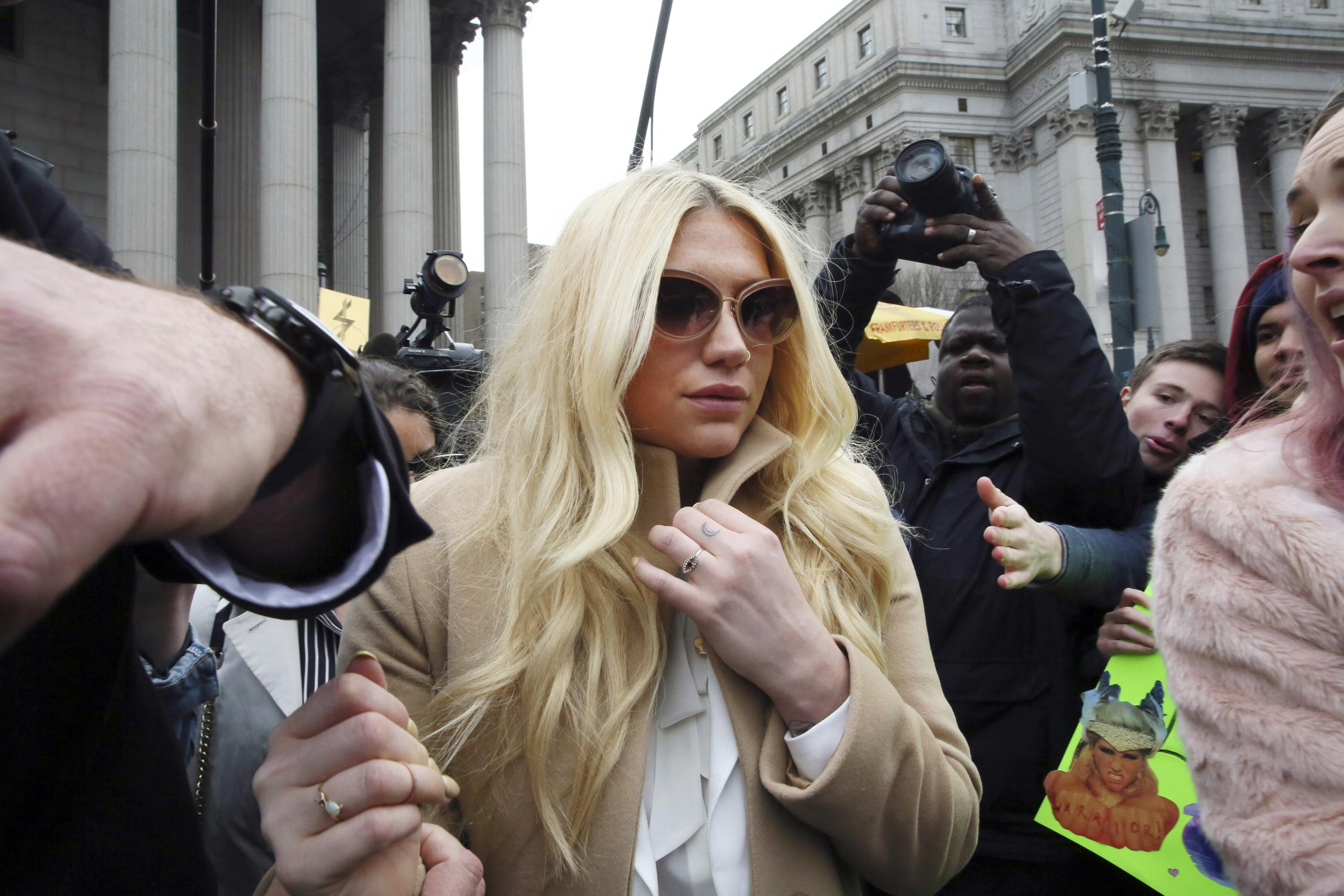 Appeals court sides with Dr. Luke on an issue in Kesha clash