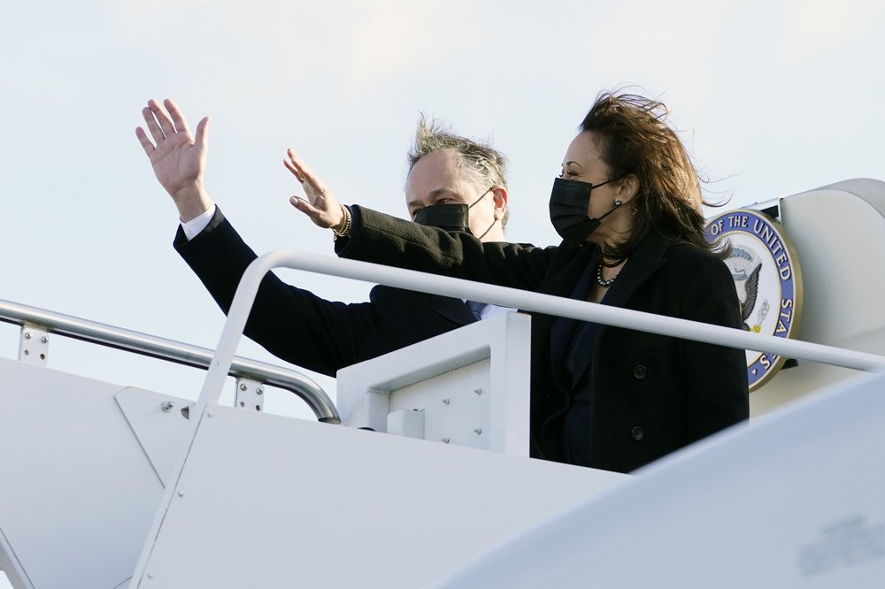 President Joe Biden, Vice President Kamala Harris and their spouses set out on a cross-country tour to promote the  COVID-19 relief plan