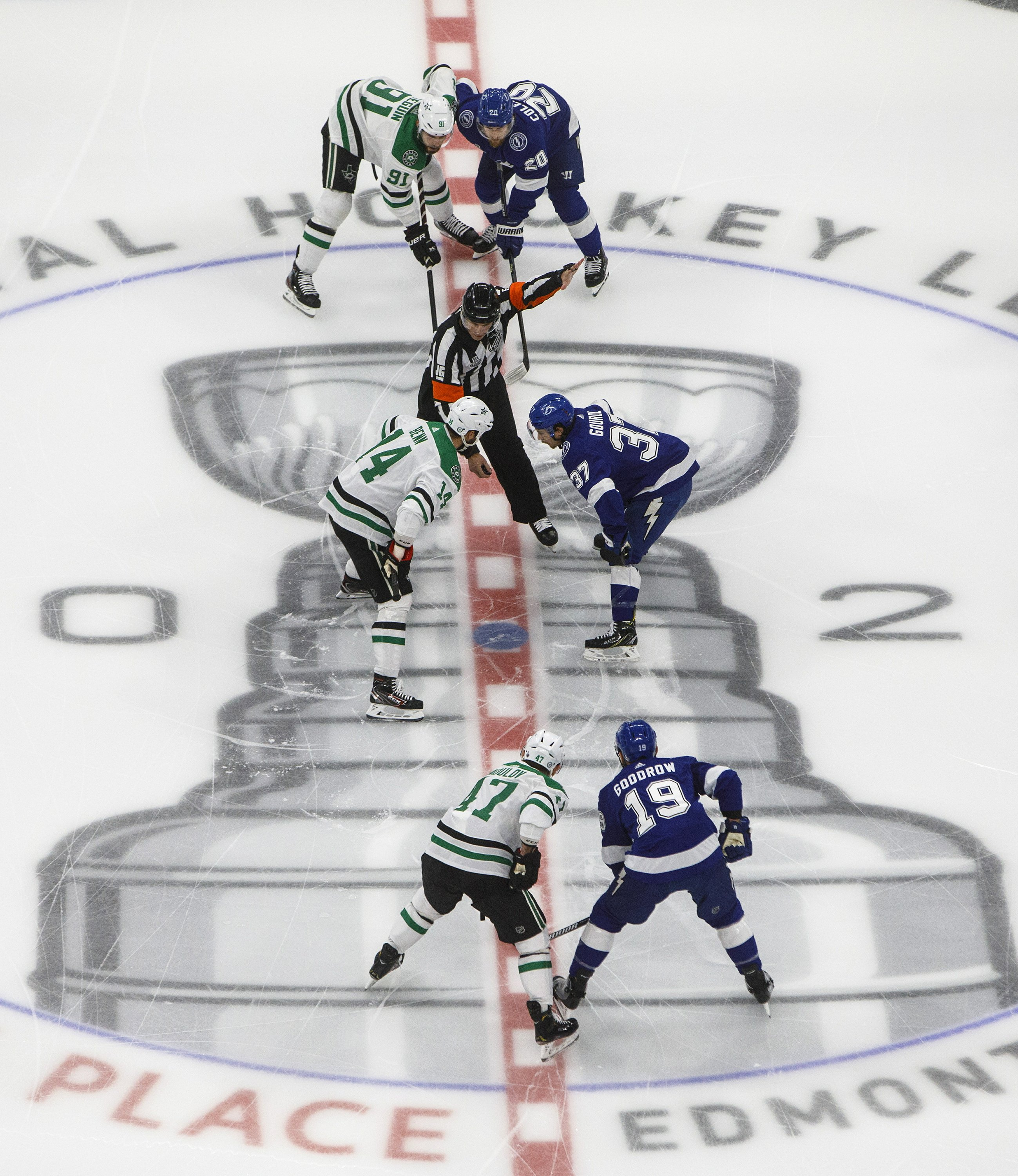Stanley Cup Faceoff: Stars, Lightning showing value of draws