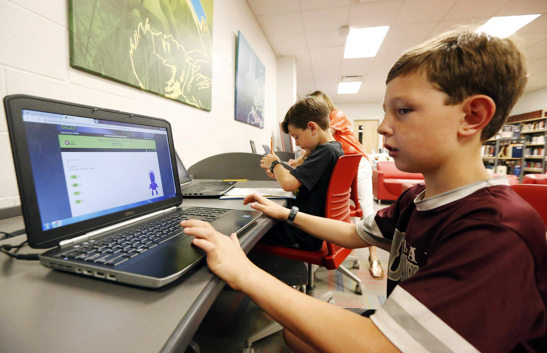 AP: As homework moves online, millions lack home internet