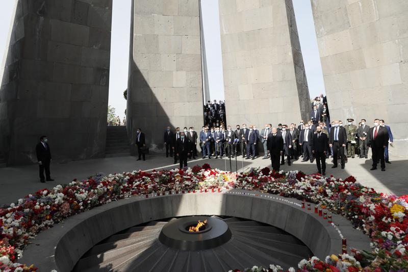 President Biden to mark Armenian Genocide Remembrance Day; recognizes atrocities committed against the Armenian people by the Ottoman Empire as genocide