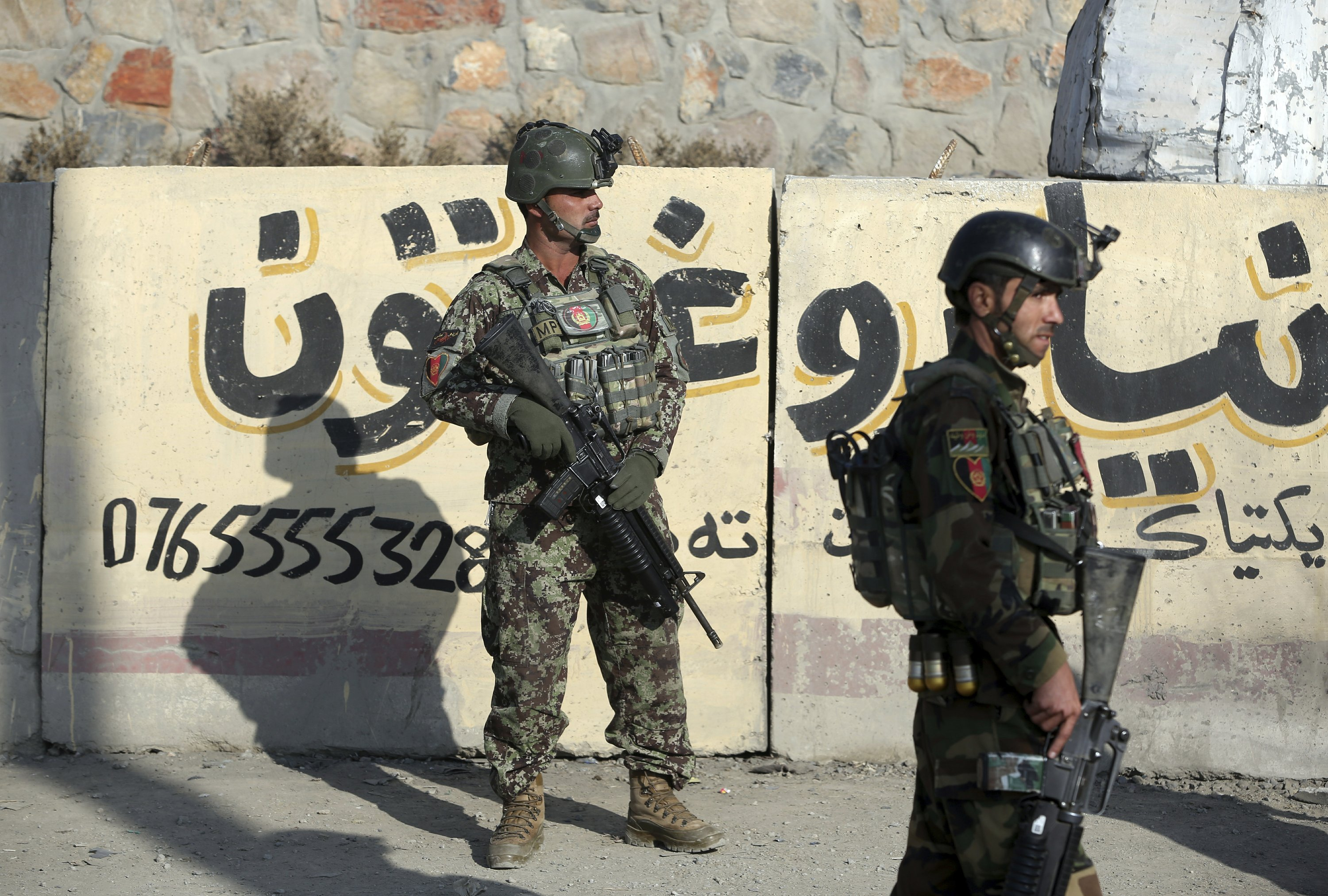 Grenades target military center, wound 5 in Afghan capital