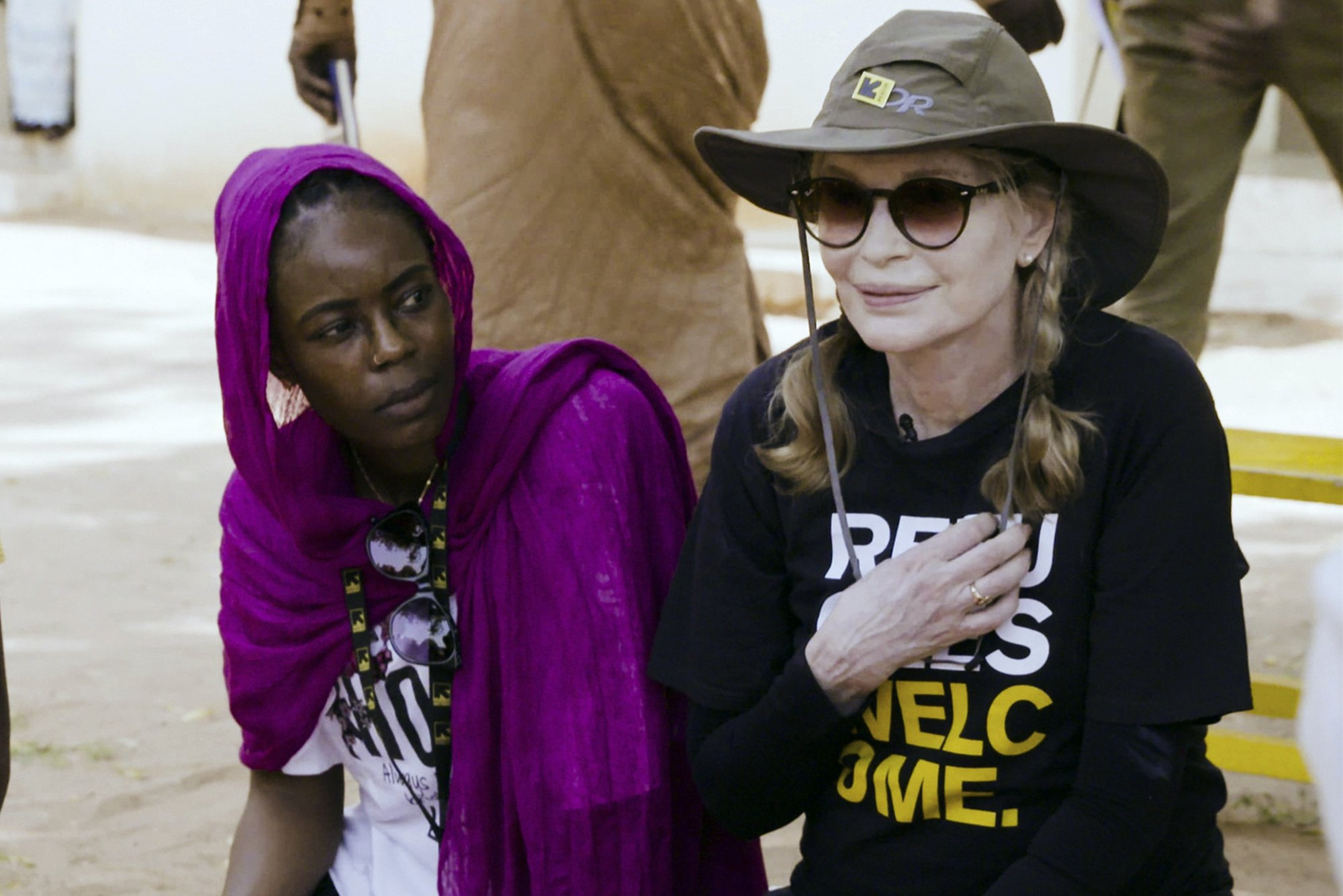 Mia Farrow visits Chad to promote new approach to hunger