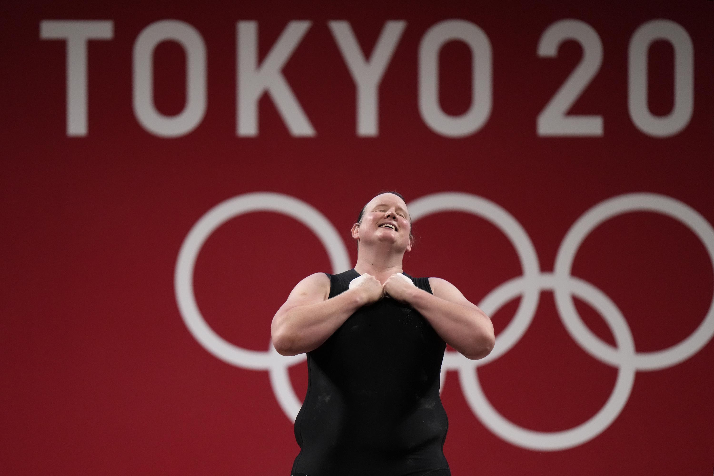 Transgender weightlifter Hubbard makes history at Olympics - Associated Press