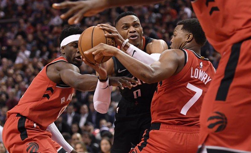 Rockets Rebound To Beat Raptors 119 109