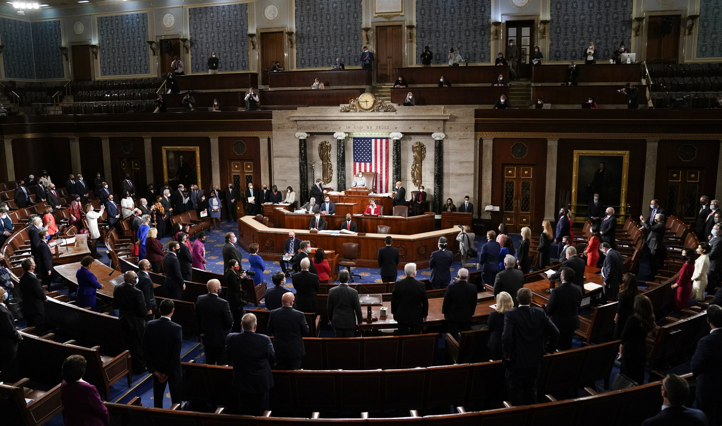 Congress opens new session as virus, Biden's win dominate