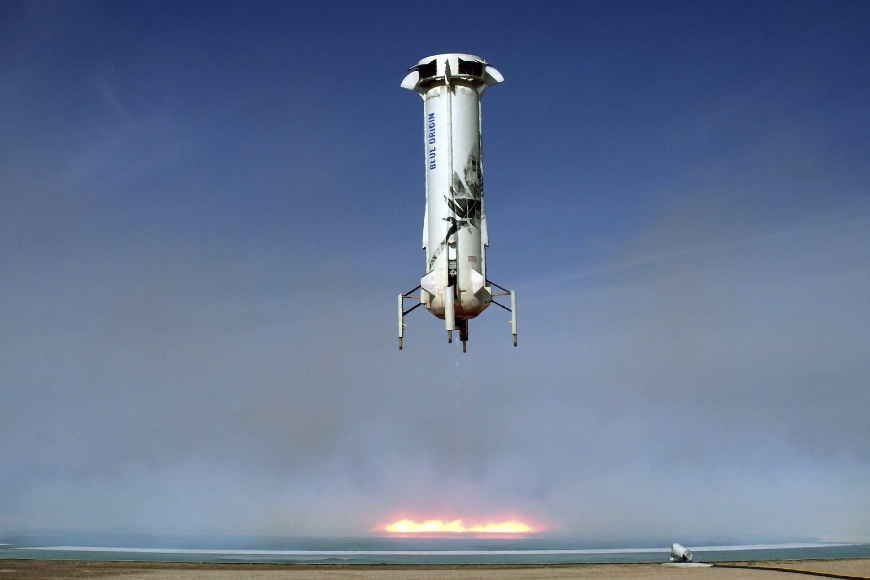 Blue Origin Launches Lands Same Rocket Record 6 Times