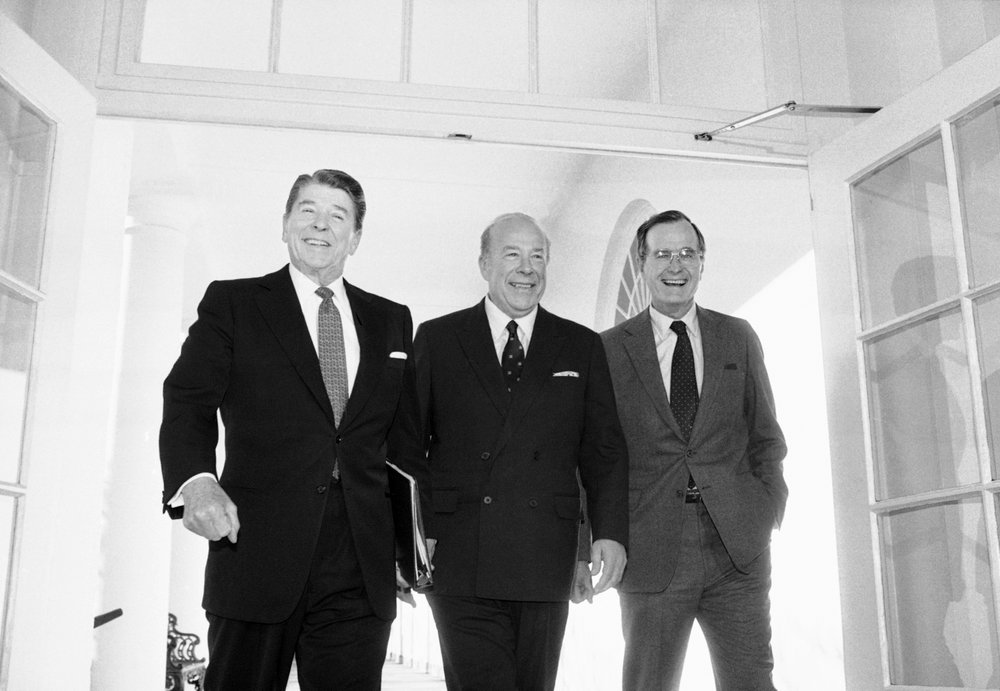 Former Secretary of State under Reagan, George P. Shultz dies at 100
