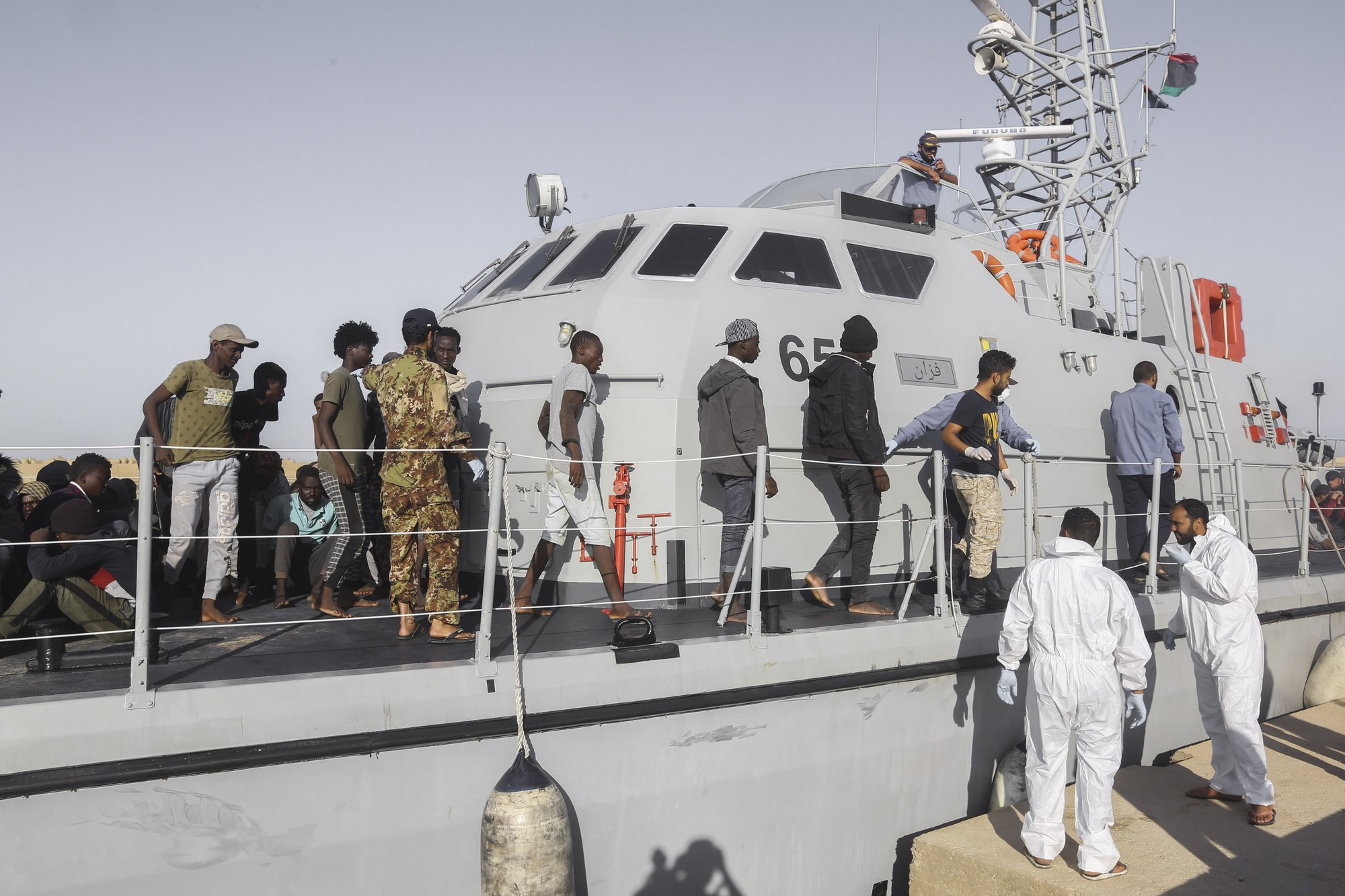 Libya's coast guard intercepts 31 Europe-bound migrants