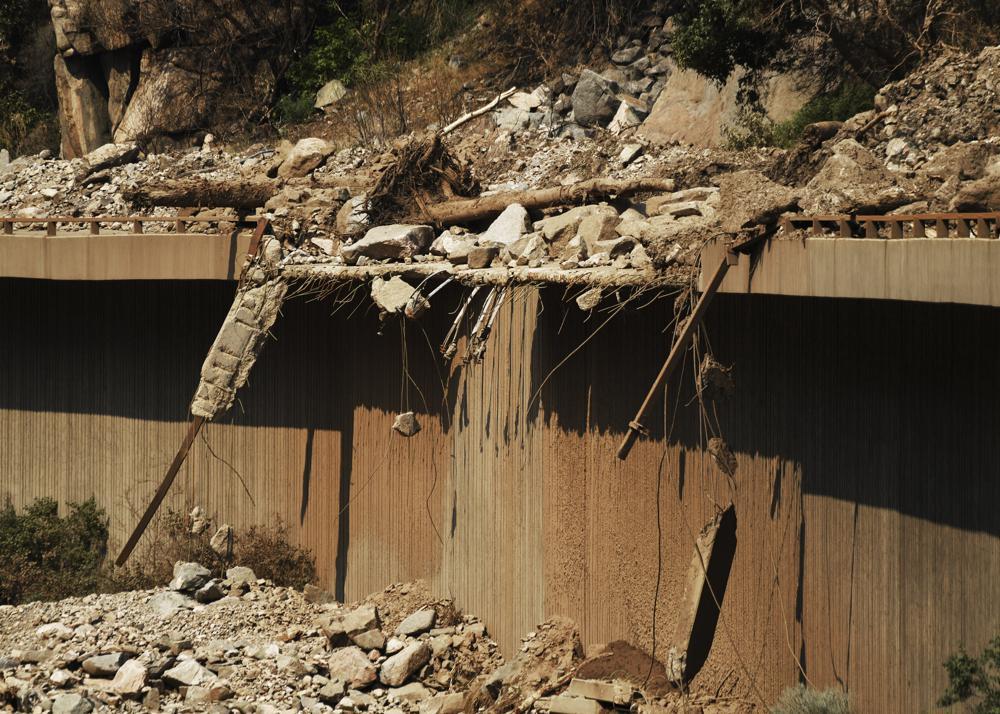 Mudslides in Colorado Close Major Transportation Route