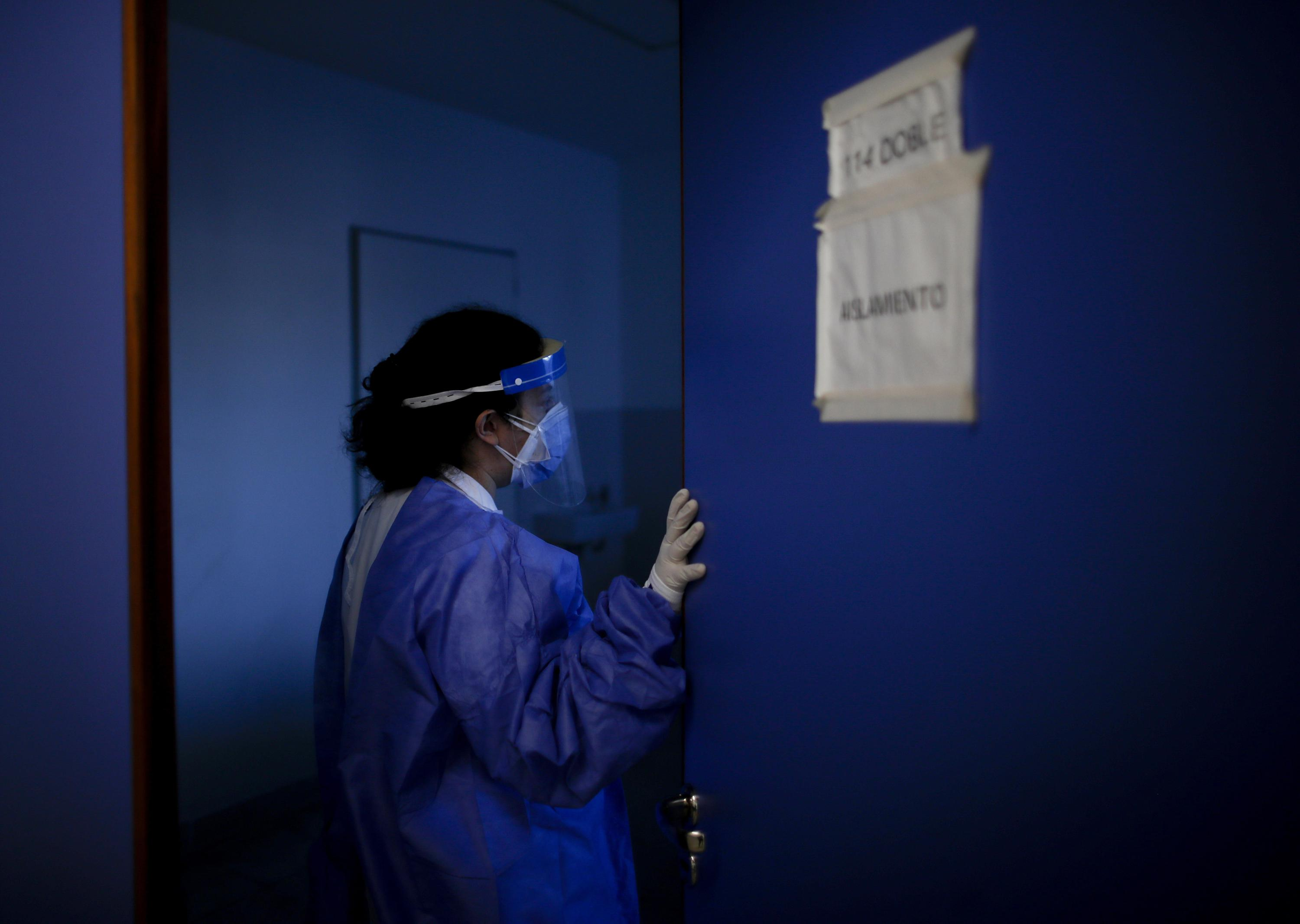 In Argentina, doctors adapt as COVID-19 strains hospitals
