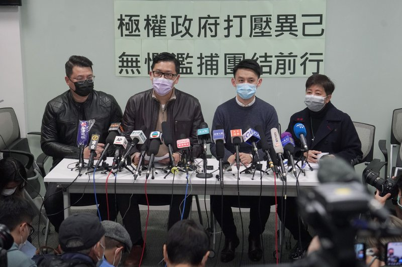 Australia, US, UK, Canada criticize Hong Kong mass arrests of 55 democracy activists