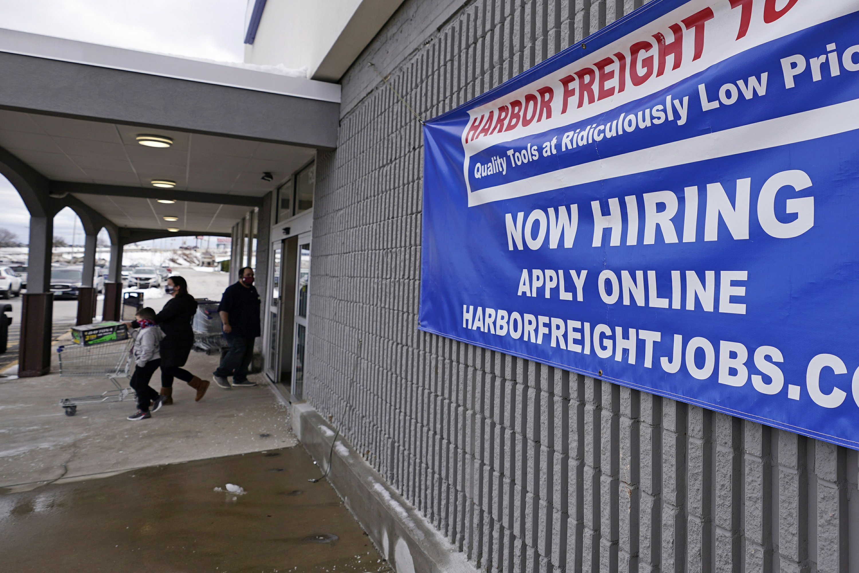 US jobless claims decline to a still-high 900000 – Associated Press