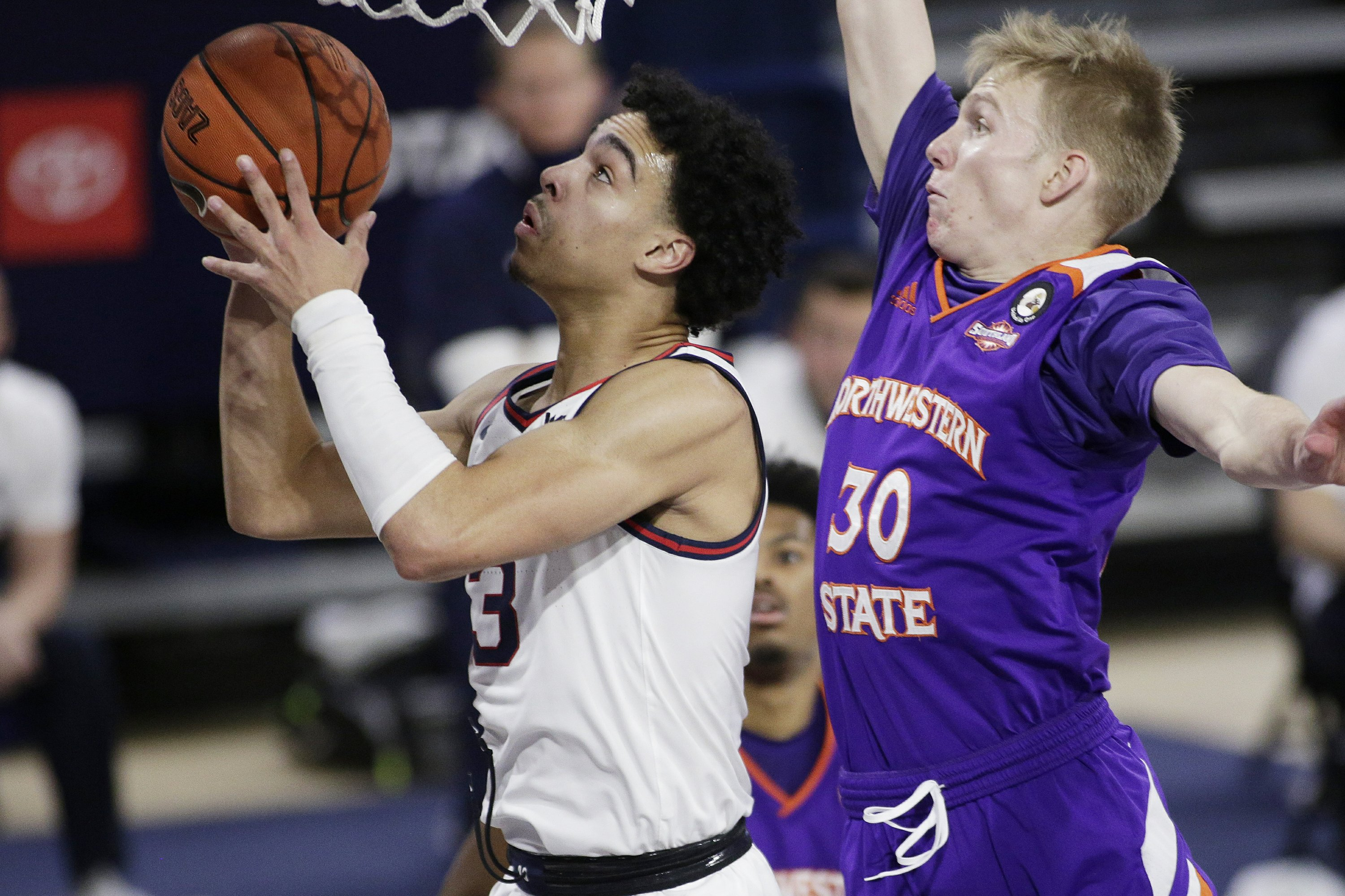 No. 1 Gonzaga faces stiff test against No. 16 Virginia