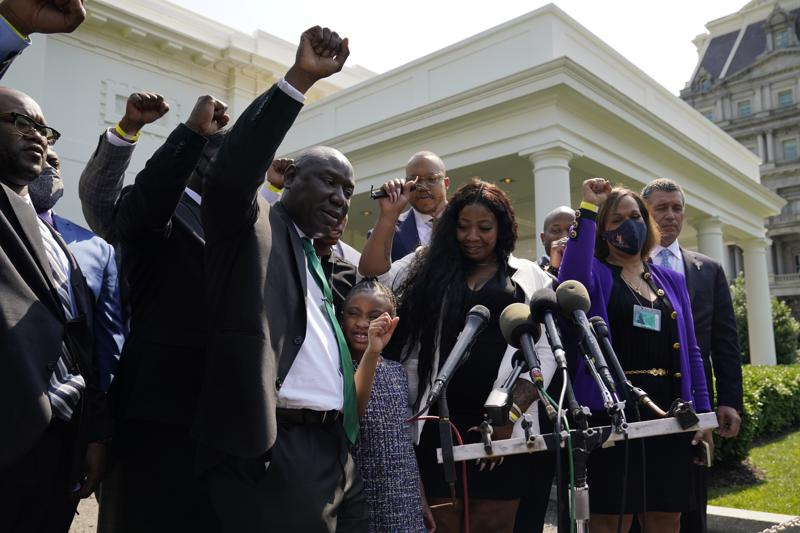 President Joe Biden,racism ,George Floyd,Vice President Kamala Harris,harbouchanews