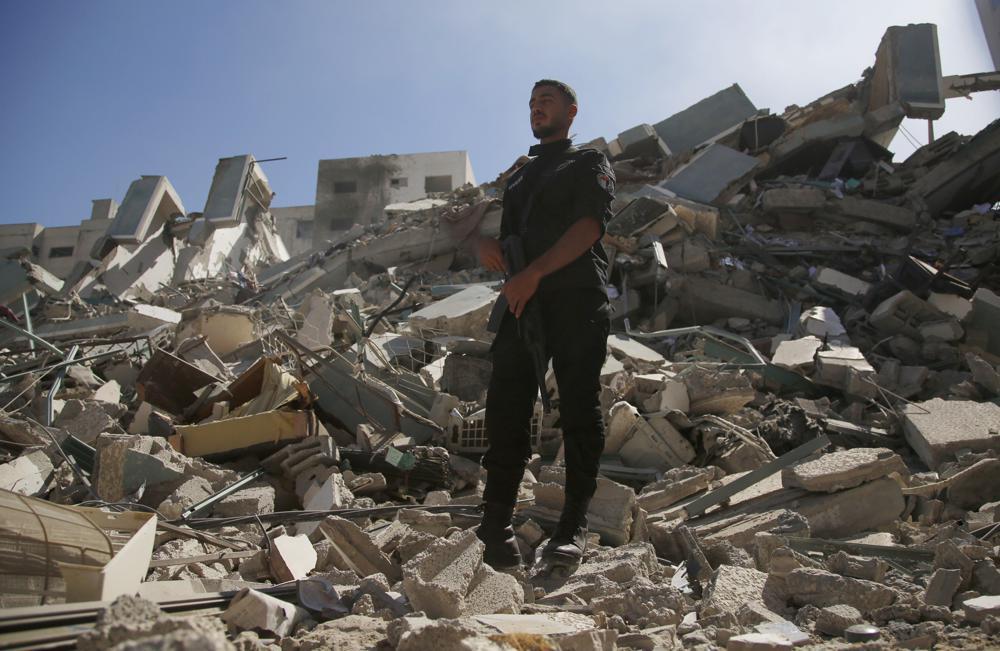Israeli Airstrike Demolishes Gaza Tower Housing Associated Press, Al Jazeera Offices