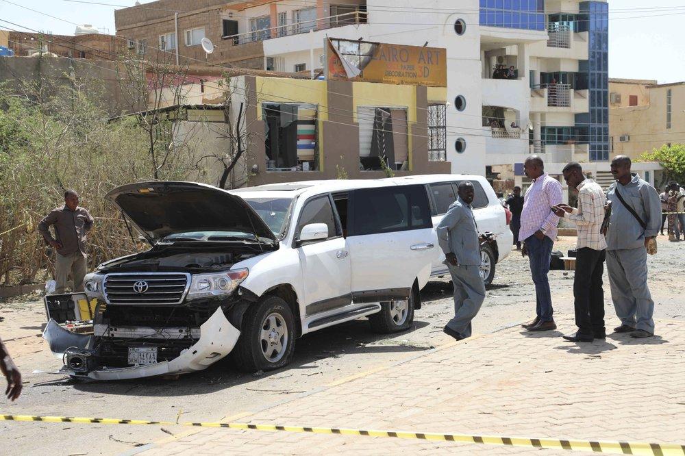 Sudan's prime minister Abdalla Hamdok said he survived a terror attack targeting his motorcade