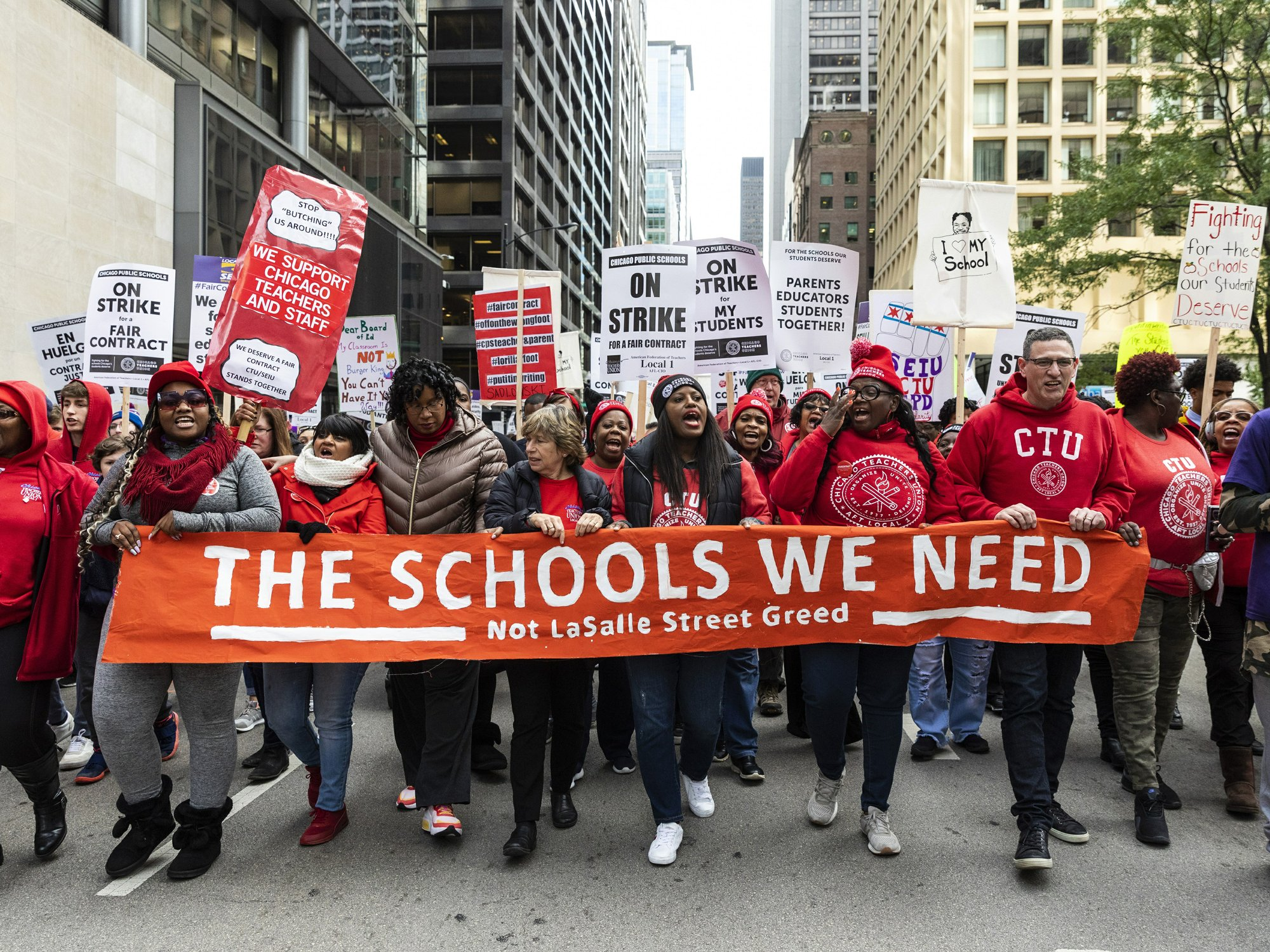 School's out: Chicago teachers strike, 1st day deal unlikely