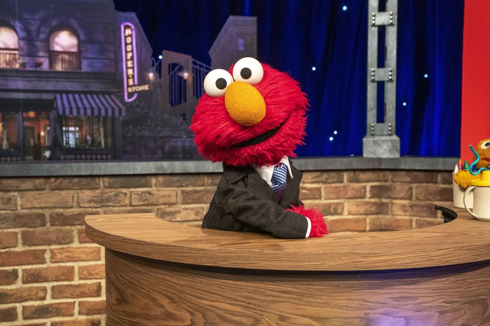 Muppet Elmo readies for his own HBO Max talk show