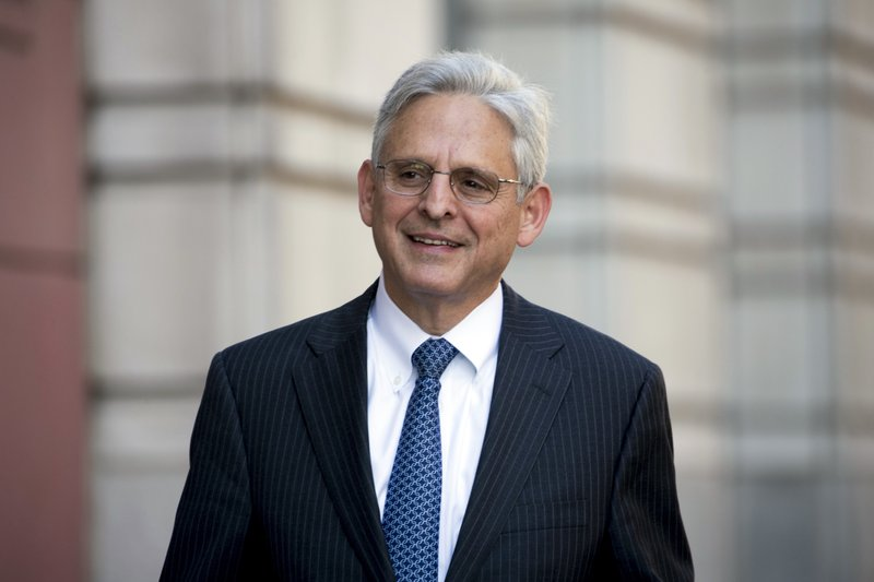"Judge Merrick Garland says laws must be ""fairly and faithfully enforced"""