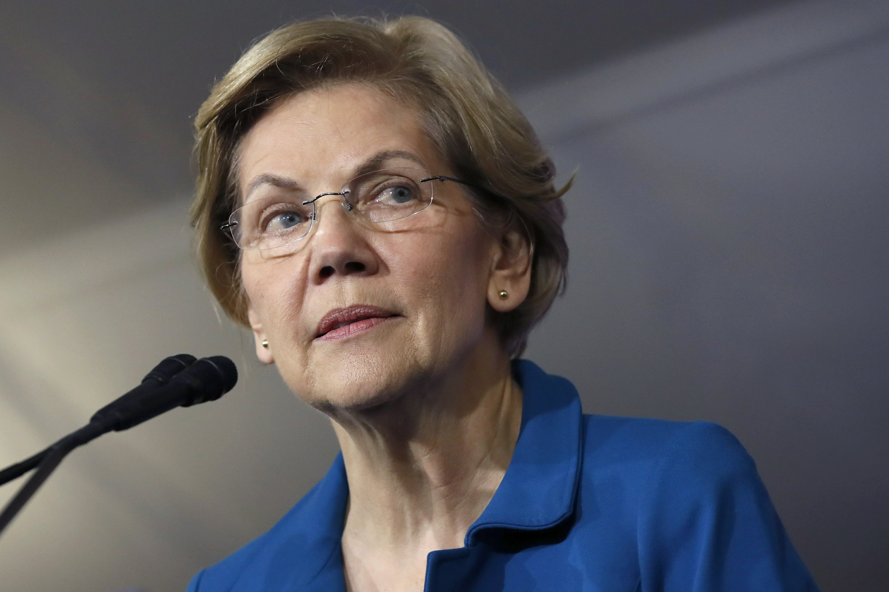 Warren raised $6M since Iowa, hasn't discussed dropping out