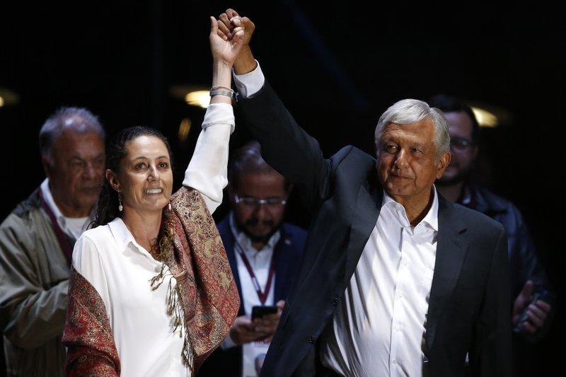 Andres Manuel Lopez Obrador, Claudia Sheinbaum