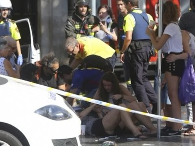 Witness Describes Panic in Spain Van Attack