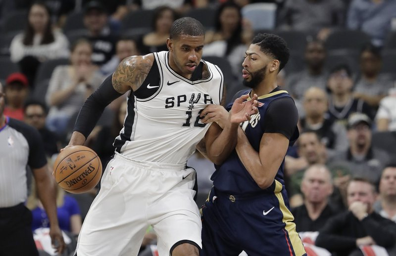 Anthony Davis, LaMarcus Aldridge