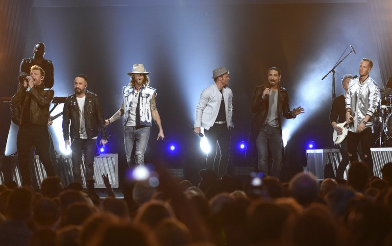 Brian Kelley, Tyler Hubbard, AJ McLean, Brian Littrell, Nick Carter, Howie Dorough, Kevin Richardson