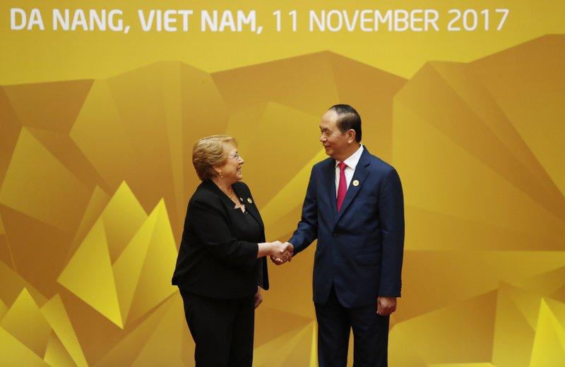 Tran Dai Quang, Michelle Bachelet