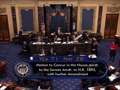 US Senate Passes Massive Budget Agreement