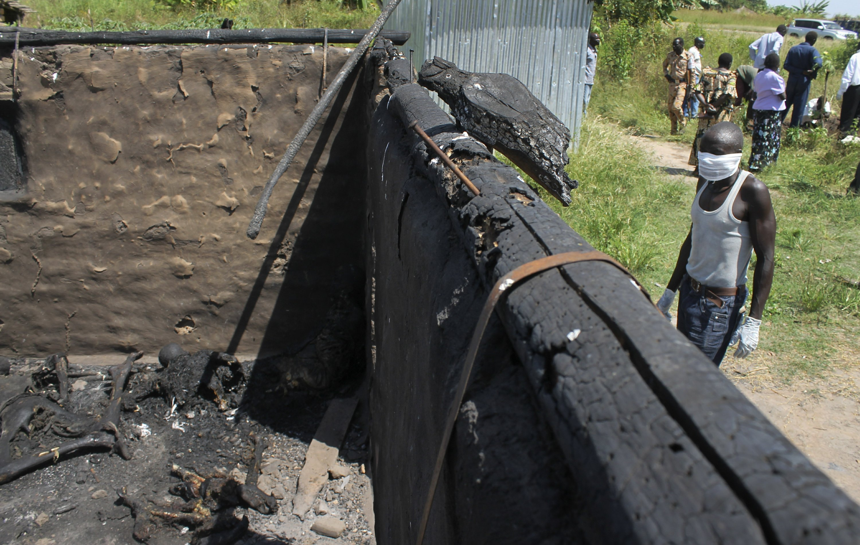South Sudanese forces blamed for torching thousands of homes
