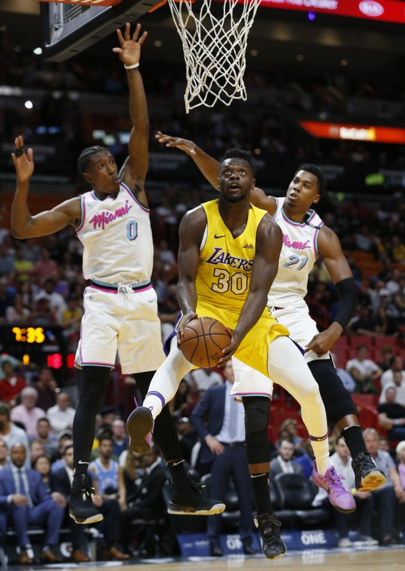 Julius Randle, Josh Richardson, Hassan Whiteside