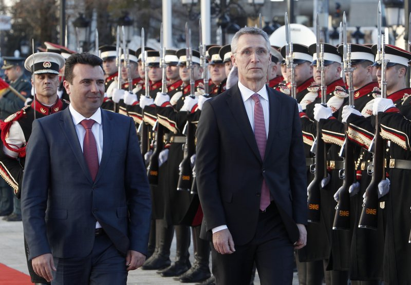 Jens Stoltenberg, Zoran Zaev