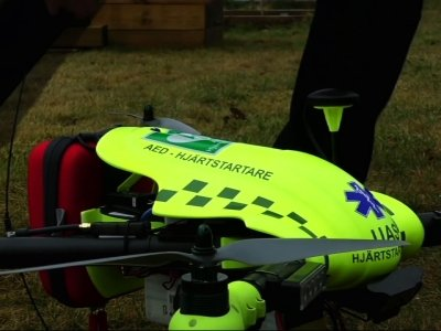 Defibrillator on Drone Could Deliver Heart Care