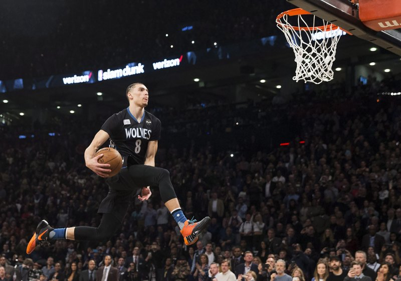 Wolves zach lavine will not dunk at all star weekend voltagebd Image collections